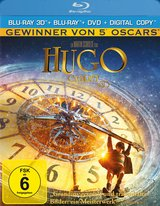 Hugo Cabret (Blu-ray 3D, Blu-ray 2D, + DVD, inkl. Digital Copy) Poster