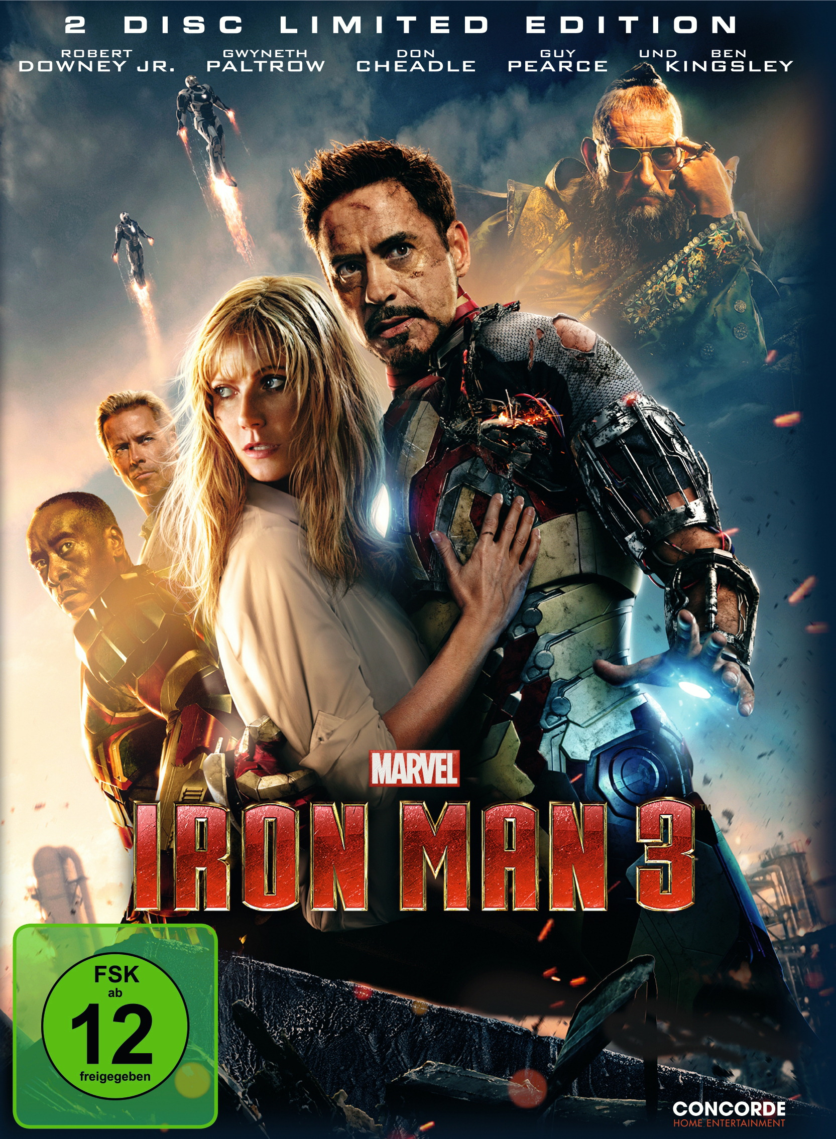 Iron Man 3 (Limited Edition, 2 Discs, Steelbook) Poster