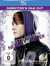 Justin Bieber - Never Say Never (Director's Fan Cut, + DVD, inkl. Digital Copy) Poster