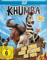 Khumba - Das Zebra ohne Streifen am Popo (Blu-ray 3D) Poster