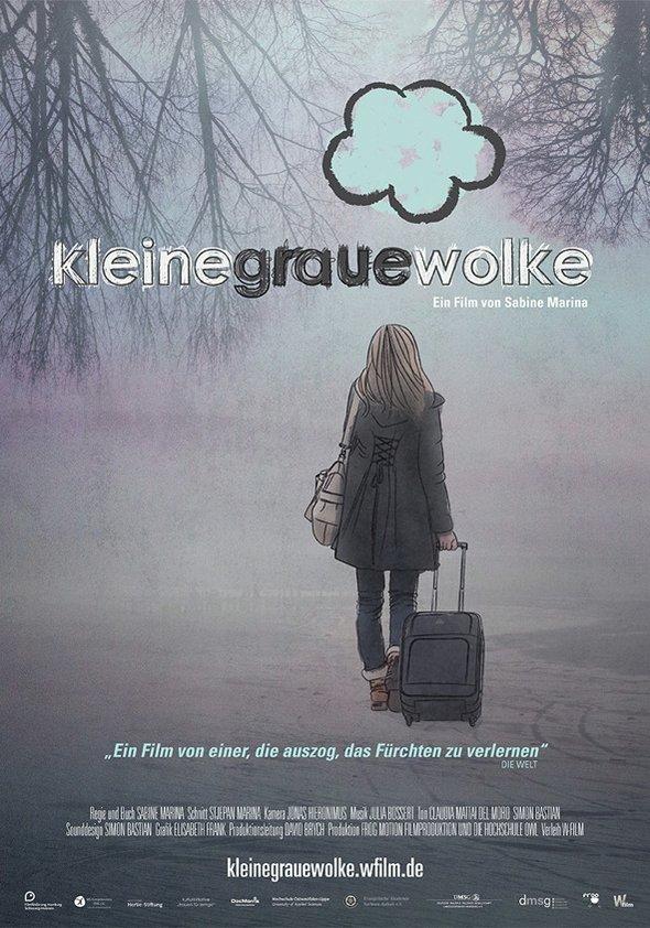 Kleine graue Wolke Poster