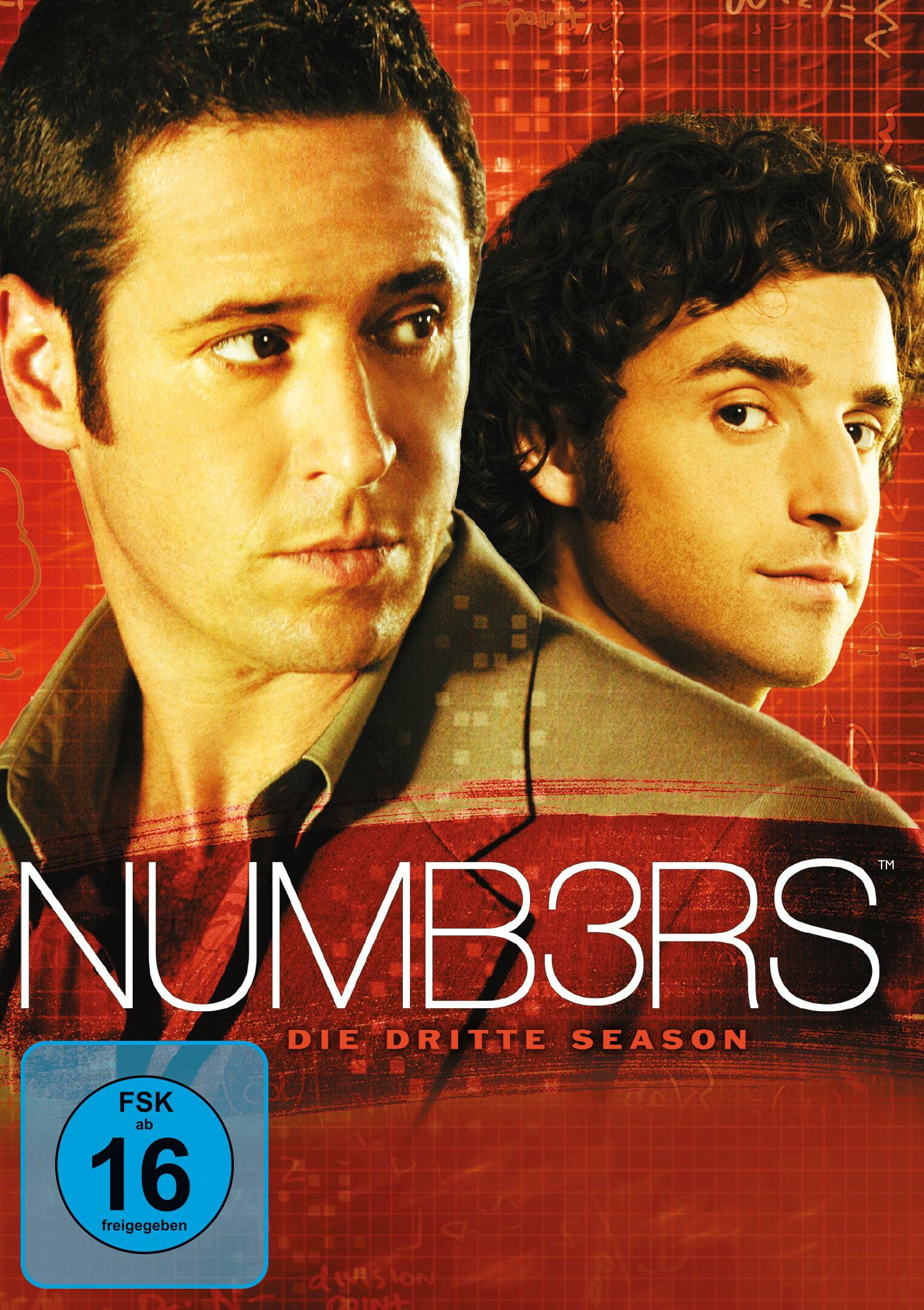Numb3rs - Die dritte Season Poster