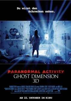 Paranormal Activity: Ghost Dimension Poster