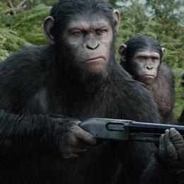 Planet der Affen - Revolution (VoD-BluRay-DVD-Trailer) Poster