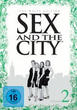 Sex and the City: Season 2 (The White Edition, 3 Discs) Poster
