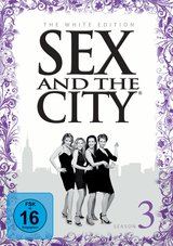 Sex and the City: Season 3 (The White Edition, 3 Discs) Poster