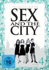 Sex and the City: Season 4 (The White Edition, 3 Discs) Poster