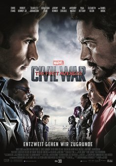 Film-Poster für Captain America: Civil War ( 3D )