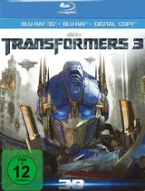 Transformers 3 (Blu-ray 3D, Blu-ray 2D, + DVD, inkl. Digital Copy) Poster