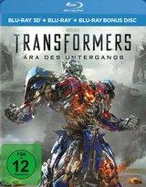 Transformers: Ära des Untergangs (Blu-ray 3D, 3 Discs) Poster