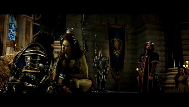 King Llane bittet Garona um Unterstuetzung - Szene Poster