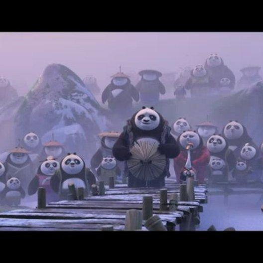 Kung fu Panda 3 (VoD-BluRay-Trailer) Poster