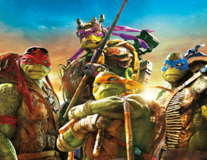 Kinocharts 06-06-2016 Teenage Mutant Ninja Turtles 2