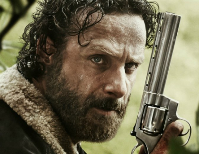 The Walking Dead Rick Andrew Lincoln
