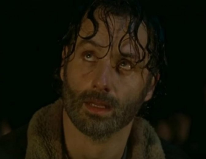 The Walking Dead Rick Grimes Negan