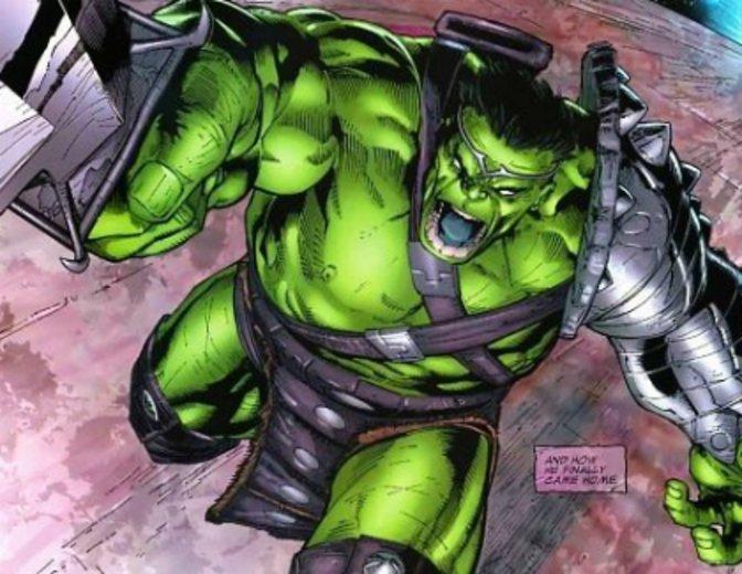 Thor 3 Planet Hulk Ruestung