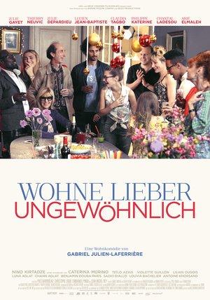 Plakat: Wohne lieber ungewöhlich