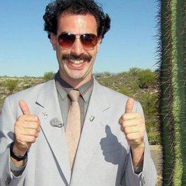 Borat wird zum Magier