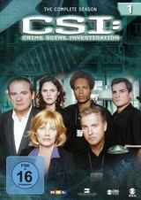 CSI: Crime Scene Investigation - Season 1 (6 DVDs) Poster