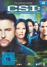 CSI: Crime Scene Investigation - Season 4 (6 DVDs) Poster