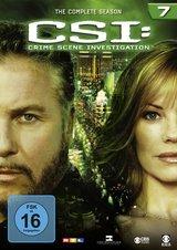 CSI: Crime Scene Investigation - Season 7 6 DVDs) Poster