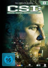 CSI: Crime Scene Investigation - Season 8 (6 DVDs) Poster