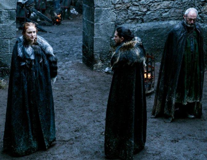 Sansa und Jon werden mit der Realität konfrontiert. © HBO
