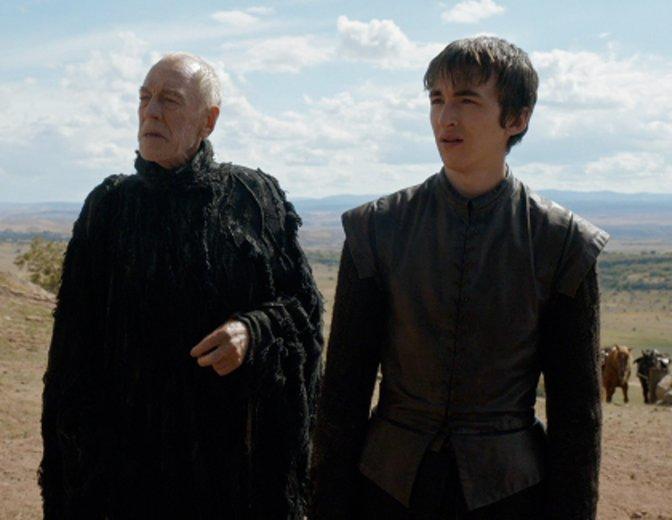 Bran und die Dreiäugige Krähe reisen zum Tower of Joy zurück. © HBO