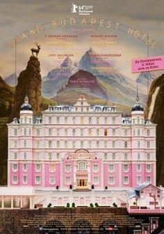 Grand Budapest Hotel Poster