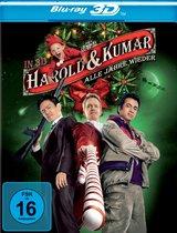 Harold & Kumar - Alle Jahre wieder (Blu-ray 3D) Poster