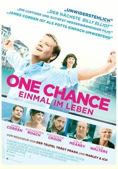 One Chance - Einmal im Leben Poster