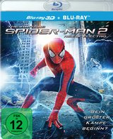 The Amazing Spider-Man 2: Rise of Electro (Blu-ray 3D, + Blu-ray 2D) Poster