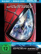 The Amazing Spider-Man 2: Rise of Electro (Limited Edition, 2 Discs, Steelbook) Poster