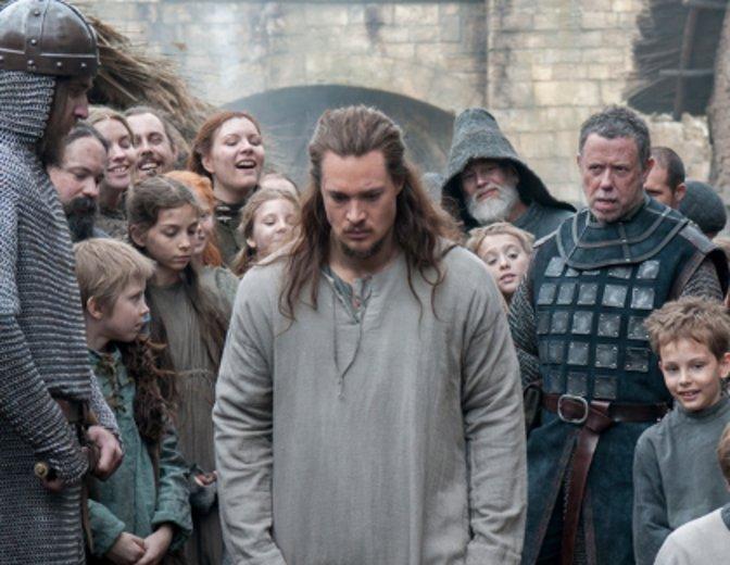 Bei den Christen muss Uthred für sein frevelhaftes Verhalten büßen © BBC America
