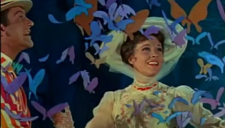 Mary Poppins - Trailer Poster