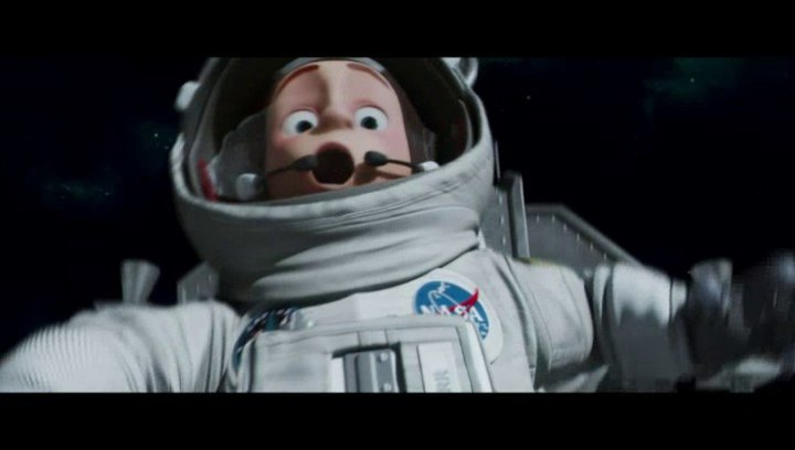 Die Mondlandung - Szene Poster