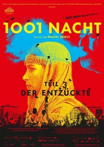 1001 Nacht, Teil 3: Der Entzückte Poster