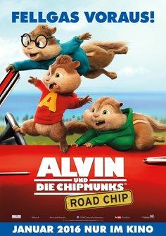 Alvin und die Chipmunks: Road Chip Poster