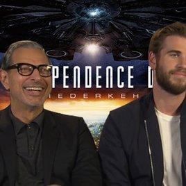 """Unser Interview zu """"Independence Day 2"""" mit Liam Hemsworth & Jeff Goldblum"""