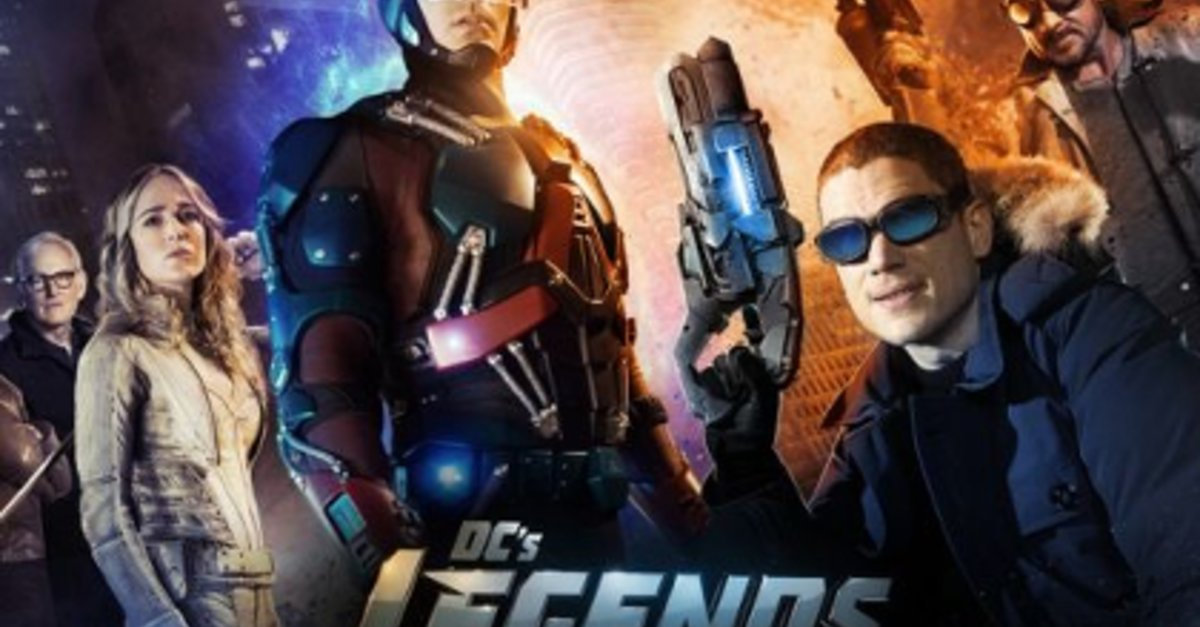 legends of tomorrow deutschland start