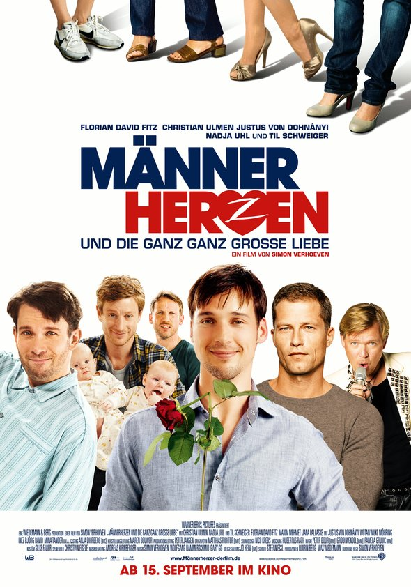 Männerherzen ... und die ganz ganz große Liebe Poster