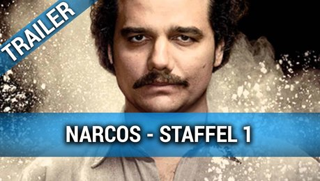 Narcos Staffel 1 Trailer Poster