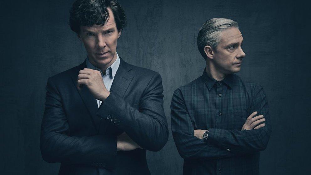 Neue Bilder von Staffel vier Sherlock und Watson   ein Dreamteam