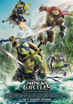 Film-Poster für Teenage Mutant Ninja Turtles: Out of the Shadows