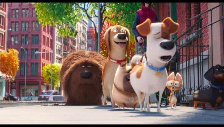 Pets (3D) - Trailer Poster