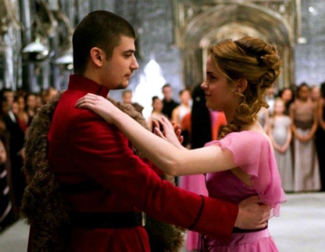 Harry Potter und der Feuerkelch Emma Watson Stanislav Ianovski