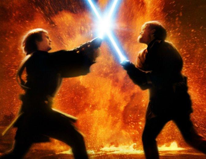Star Wars Episode 3 Lichtschwert