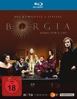 Borgia - Die komplette 1. Staffel (Director's Cut, 4 Discs) Poster