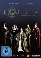 Borgia - Die komplette 2. Staffel (Director's Cut, 4 Discs) Poster