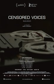 Censored Voices Poster